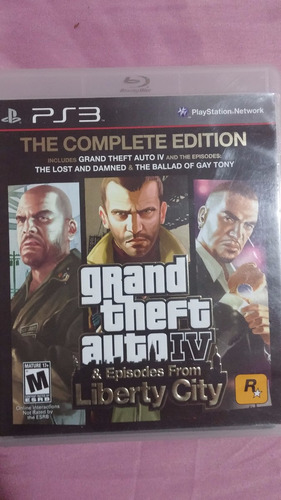 grand theft auto iv: the complete edition - ps3