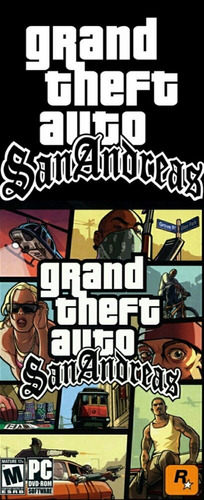 grand theft auto san andreas para ps2 chipeada