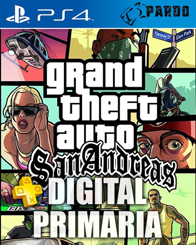 grand theft auto: san andreas ® + plus - ps4 digital - pardo
