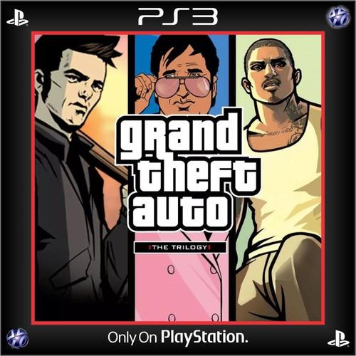 grand theft auto: the trilogy ps3 digital español