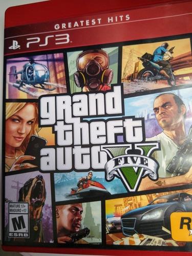 grand theft auto v: greatest hits ps3
