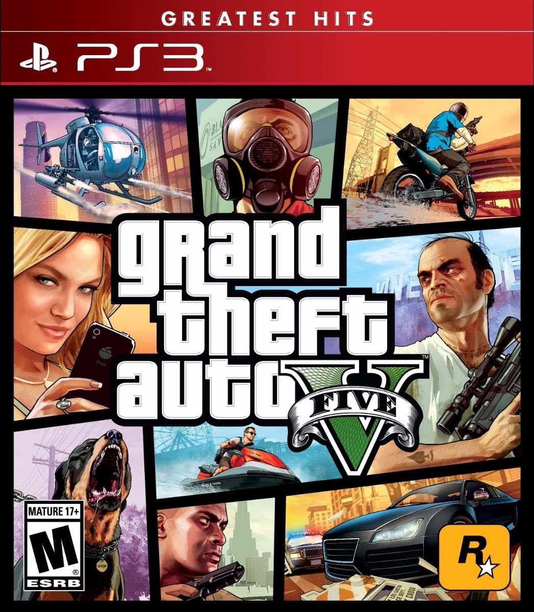 Gta Grand Theft Auto V 5 Ps3: Grand Theft Auto V Gta 5 Para Playstation 3 Nuevo