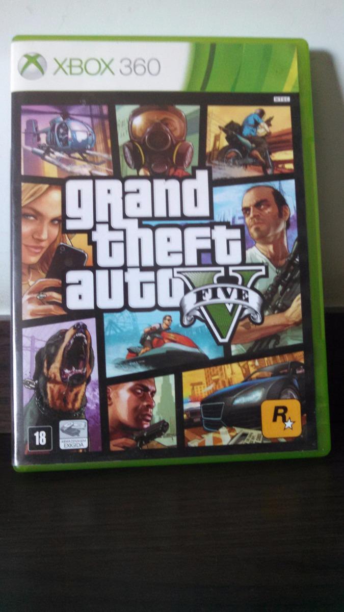 Gta 5 Xbox 360 : Grand theft auto v gta xbox usado leia o anuncio