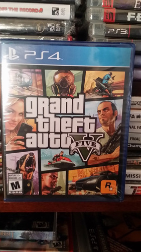 grand theft auto v gta v - fisico - playstation 4