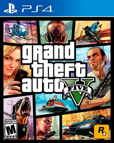 grand theft auto v ps4 - juego fisico - next gamers