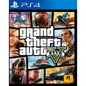 Grand Theft Auto V Ps4 Sec. Juega Con Tu Perfil