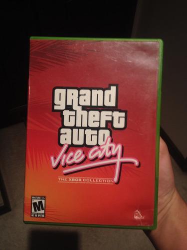 grand theft auto vice city xbox usado