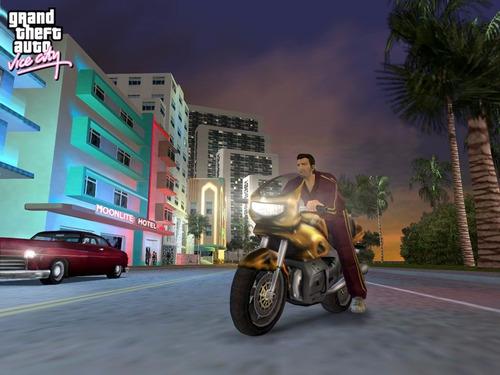 grand thefth auto: vice city juego digital ps3