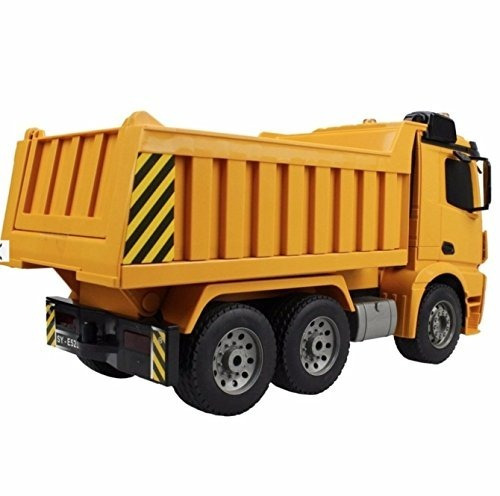 grande 14 pulgadas rc mercedes benz heavy construction dump
