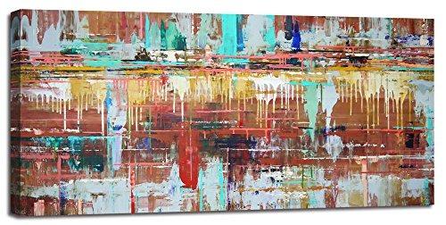 Pintura Para Salas De Estar : Grande arte de pared para sala de estar pintura abstracta im