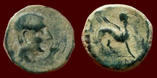 grande as de castulo. hispania. esfinge alada. pré-romana