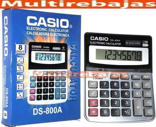 grande calculadora casio electronica para negocios locales