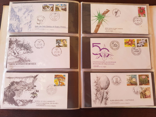 grande coleção de envelopes e selos