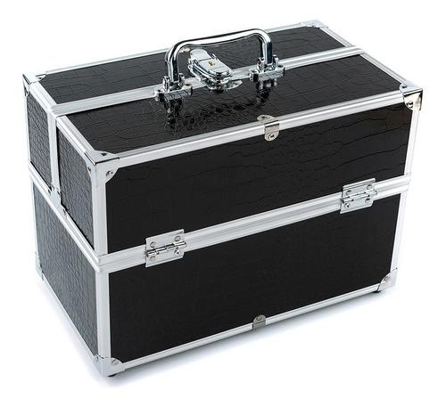 grande cosmético organizador caja hacer arriba caso para ha