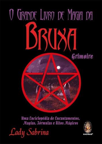 grande livro de magia da bruxa grimoire - lady sabrina
