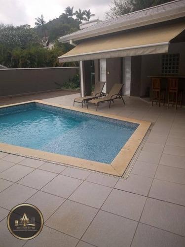 grande oportunidade de mora em um (condomínio  segurança 24h) casa espetacular à venda em  alphaville: residencial 9 - ca0726