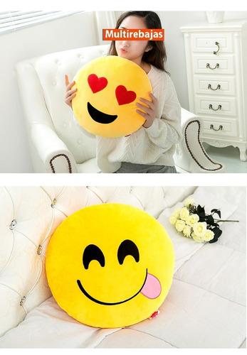 grande peluche emoticon emoticones enamorados de 45cm