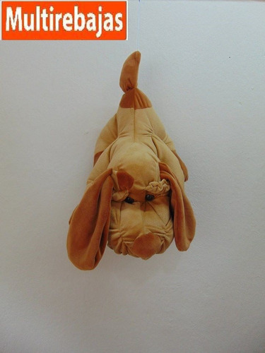 grande perro de peluche 50x30 centimetros