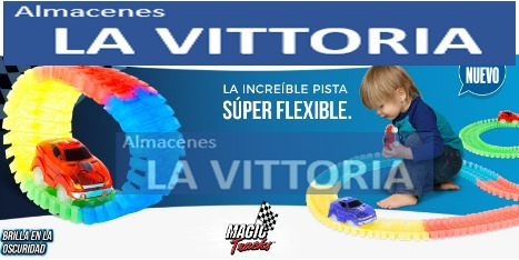 grande pista de carros magic tracks