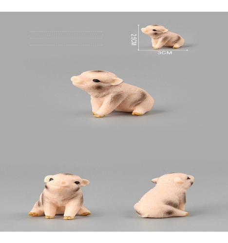 grande porco modelo brinquedos meninas presentes parente int