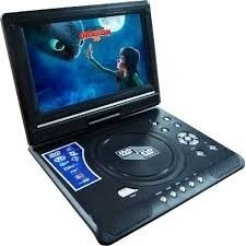 grande portatil full hd  dvd tv usb sd vídeo juego radio