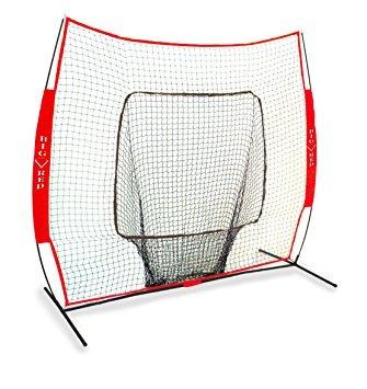 grande rojo del béisbol / softball 7x7 práctica neto (gara
