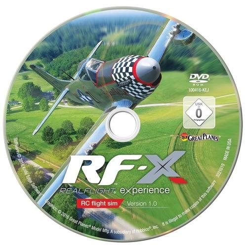 grandes aviones realflight x radio controlled + envio gratis