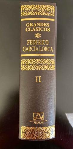 grandes clásicos federico garcía lorca - 3 tomos