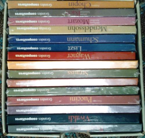grandes compositores de la música clasica