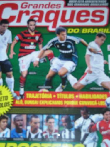 grandes craques do brasil n 2 ano 2009-17 posteres