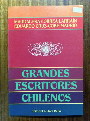 grandes escritores chilenos  magdalena herrera larrain