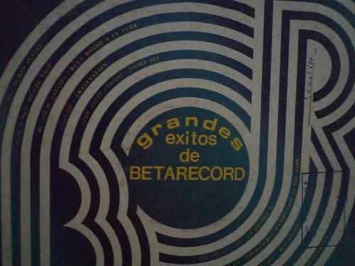 grandes exitos de betarecord i - ii - varios artistas -  lp