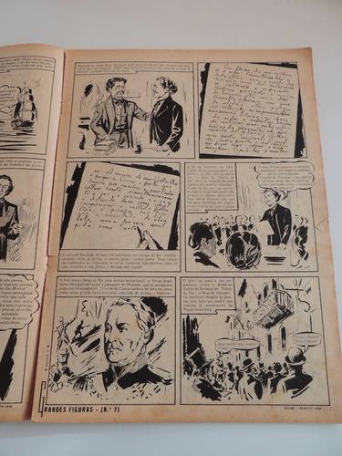 grandes figuras quadrinhos castro alves poeta escravos 1958