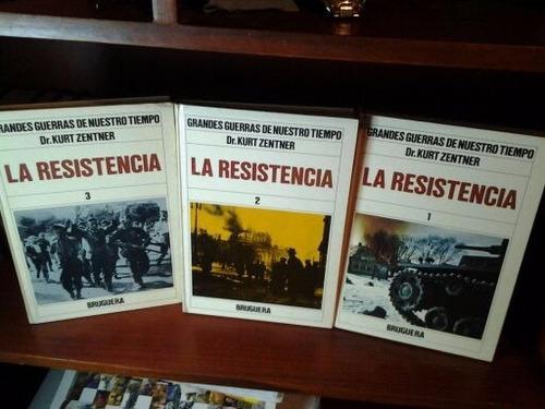 grandes guerras de nuestro tiempo(la resistencia)3 tomos
