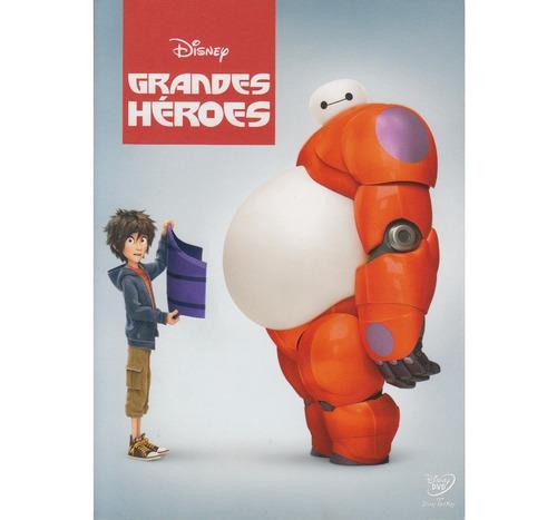 grandes heroes big hero 6 disney pelicula dvd