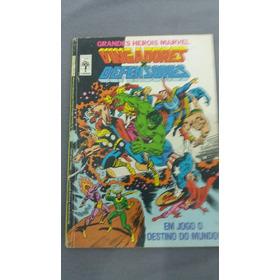 Grandes Heróis Marvel 8 -abril -vingadores X Defensores