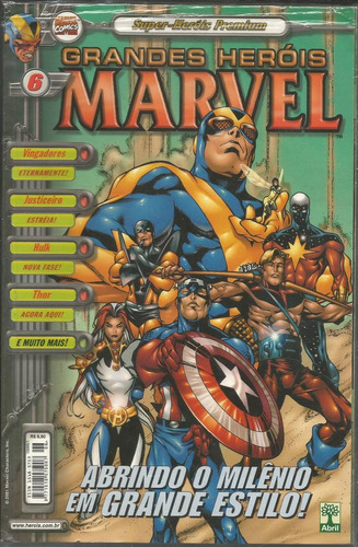 grandes herois marvel premium 06 - bonellihq cx405 h18