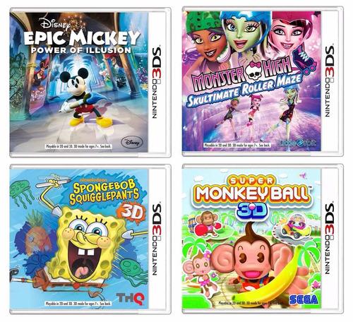 grandes juegos originales para consolas nintendo 3ds