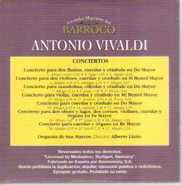 grandes maestros del barroco scarlatti vivaldi bach  haendel