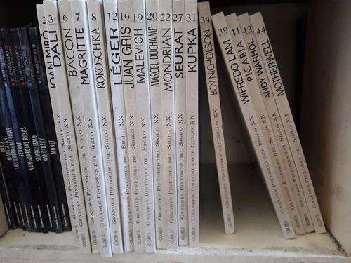 grandes pintores del siglo xx. globus. 31 tomos
