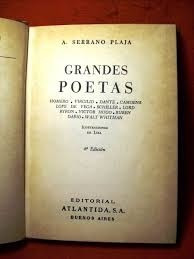 grandes poetas serrano plaja  poesia