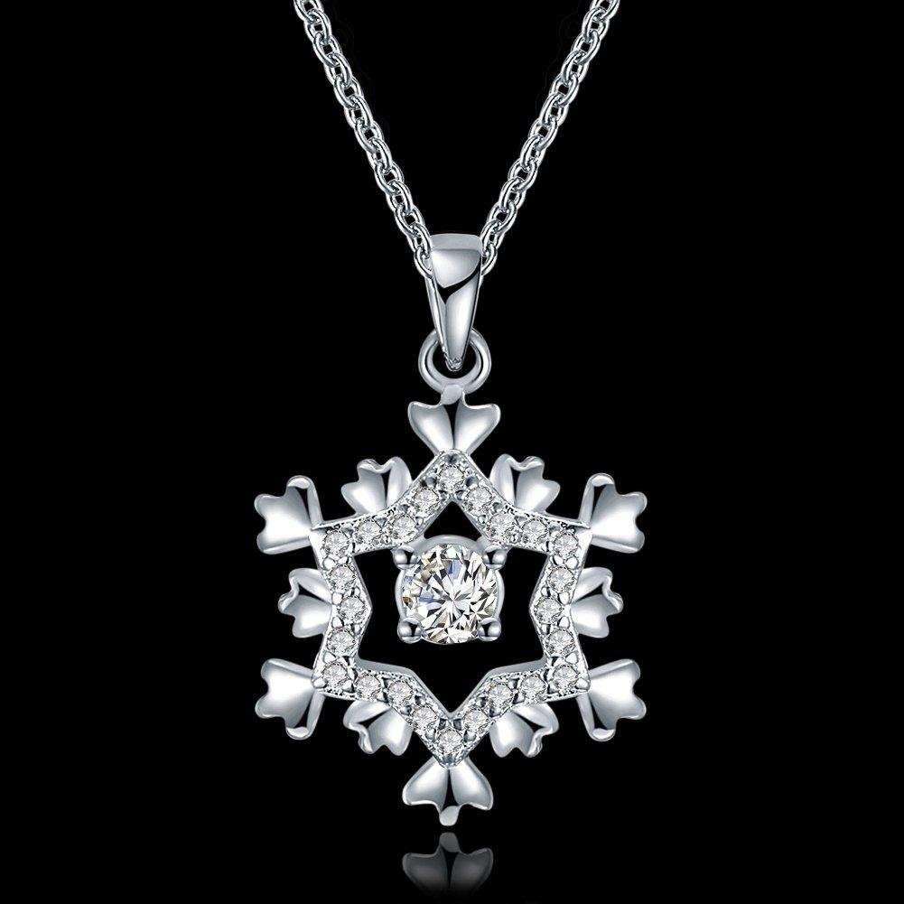 12bc437e6e7c grandes ventas platino 18k plateado mujeres joyería de bling. Cargando zoom.