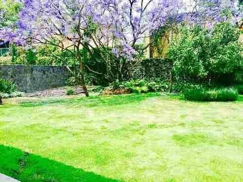 grandiosa casa en calle cerrada de sueño jardines del pedregal álvaro obregón