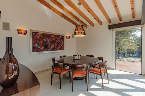 grandiosa casa en residencia en venta en fraccionamiento rancho san francisco