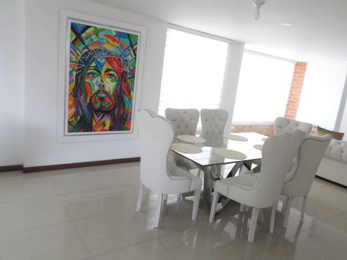 grandioso apartamento amoblado en arrendamiento - sector el
