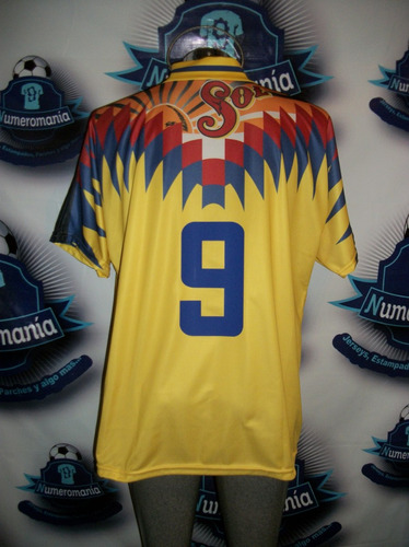 grandioso jersey america retro reedición plumas africanas 95
