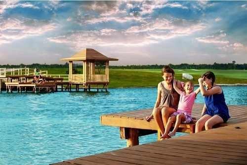 grandioso terreno en venta en exclusiva yucatán country club, isla de kanha
