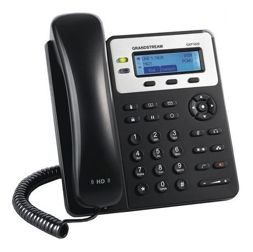 grandstream teléfono ip gxp1625, 2 líneas, altavoz, negro