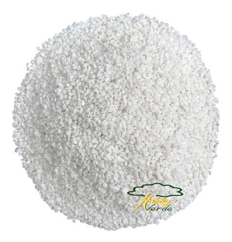 granitina branca pedrisco para aquário e vasos nº 00  2 kg