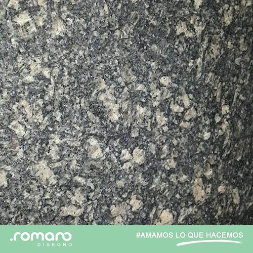 granito nacional gris leona, tope, lamina, financiado.